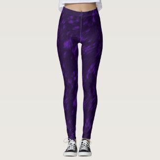 Dark Violet Leggings