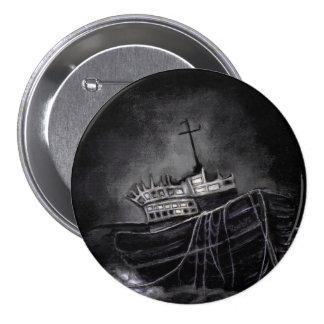 Dark Voyage 3 Inch Round Button