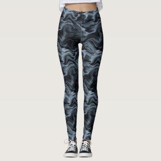 Dark Watercolor Leggings