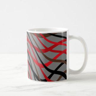 Dark Weave Wave Coffee Mug