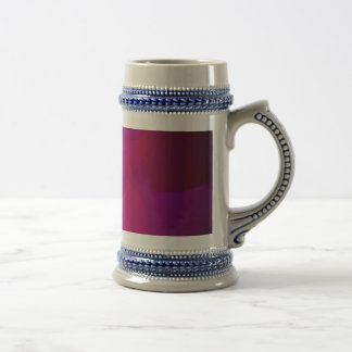 Dark Wine Simple Abstract Composition Beer Steins