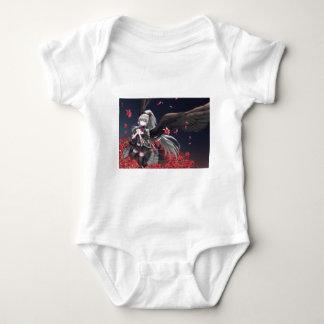 Dark Winged Angel Baby Bodysuit