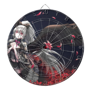 Dark Winged Angel Dartboard