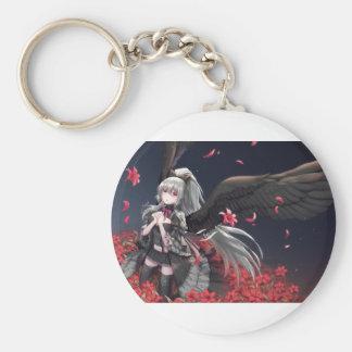 Dark Winged Angel Keychain