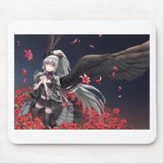 Dark Winged Angel Mouse Pad