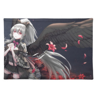 Dark Winged Angel Placemat