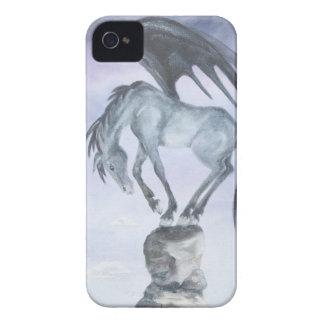 Dark Winged Fantasy Horse iPhone 4/4S Case
