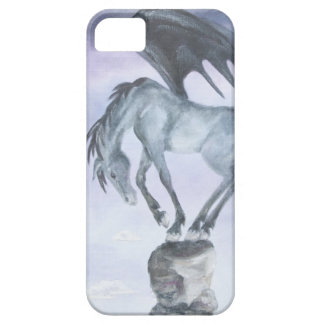 Dark Winged Fantasy Horse iPhone 5 Case