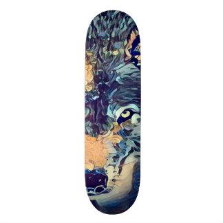 Dark Wolf Zero Element Custom Pro Park Board Skateboard