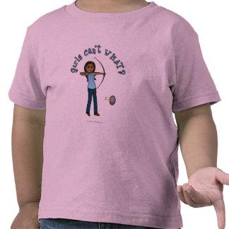 Dark Women's Archery in Blue T-shirts