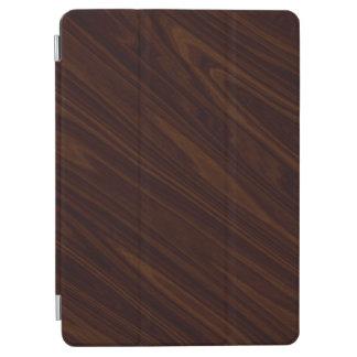 Dark wood iPad air cover