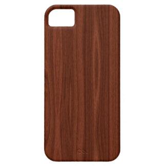Dark Wood iPhone 5 Cases