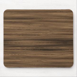 dark wood mouse pad