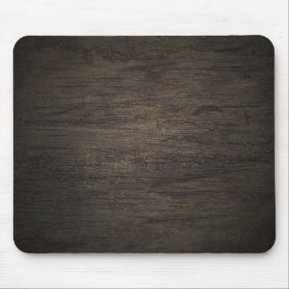 Dark Wood Panel Mousepad
