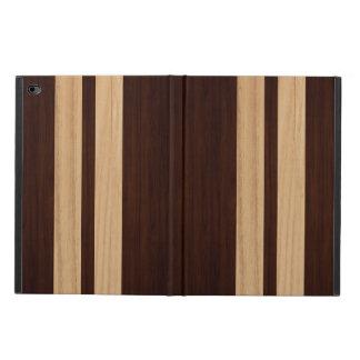 Dark Wood Rosewood Stripes - Wood Grain Look