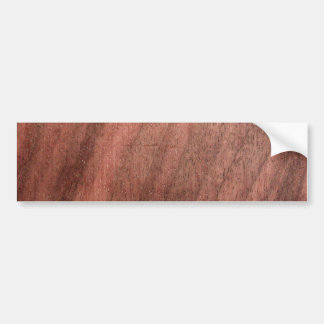 Dark Wood Texture Bumper Sticker