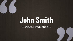Video production business cards business card printing zazzle ca dark wood video production business card reheart Images