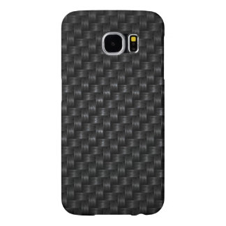 Dark Woven Texture Samsung Galaxy S6 Cases