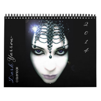 Dark Yarrow Art 2014 Calendar