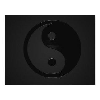 Dark Yin and Yank - Yin Yang Card