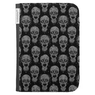Dark Zombie Apocalypse Pattern Cases For Kindle