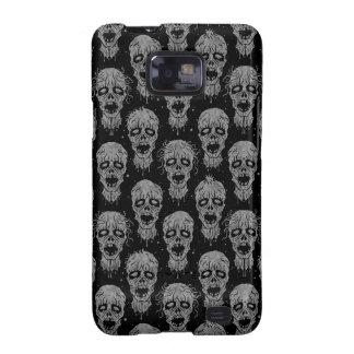 Dark Zombie Apocalypse Pattern Samsung Galaxy SII Case