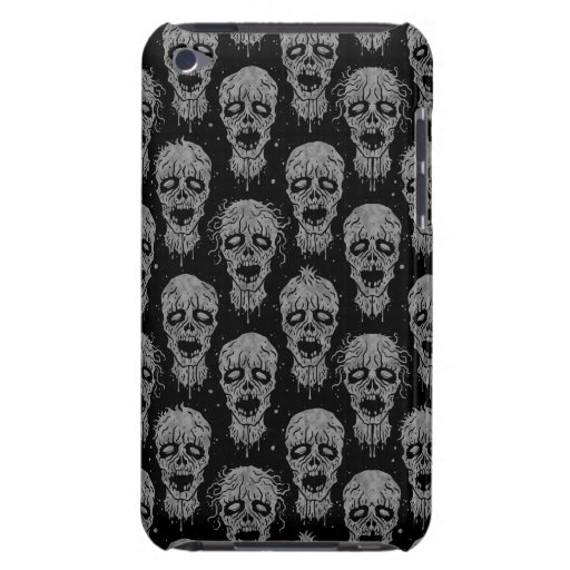 Dark Zombie Apocalypse Pattern iPod Touch Covers