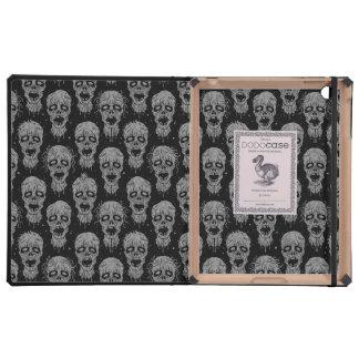 Dark Zombie Apocalypse Pattern iPad Covers