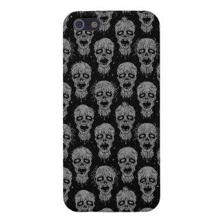 Dark Zombie Apocalypse Pattern iPhone 5 Covers