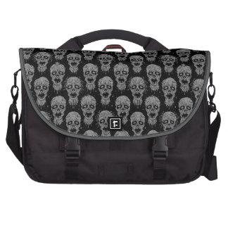 Dark Zombie Apocalypse Pattern Laptop Bags
