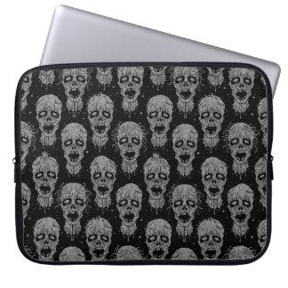 Dark Zombie Apocalypse Pattern Computer Sleeves