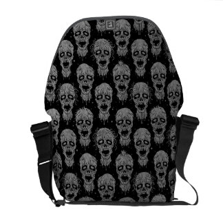 Dark Zombie Apocalypse Pattern Courier Bags