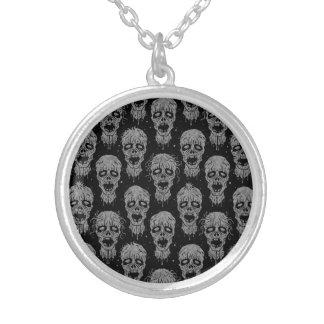 Dark Zombie Apocalypse Pattern Pendants