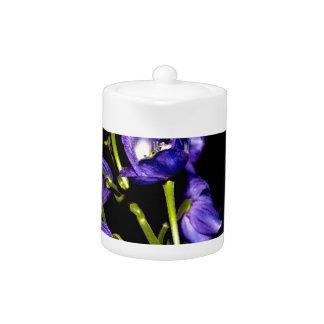 Darken purple blooms