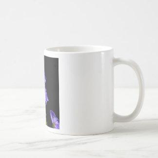 Darken purple blooms coffee mug