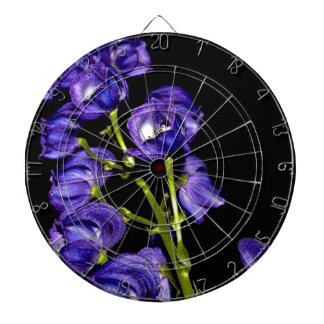 Darken purple blooms dartboard