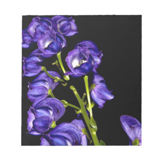 Darken purple blooms notepad