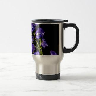 Darken purple blooms travel mug