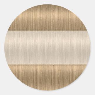 Darker Blonde Hair Salon Stylist Blank Stickers