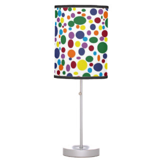 Darker Rainbow Bubbles Lamp
