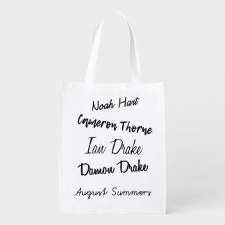 Darkest Days by Athena Wright Reusable Bag