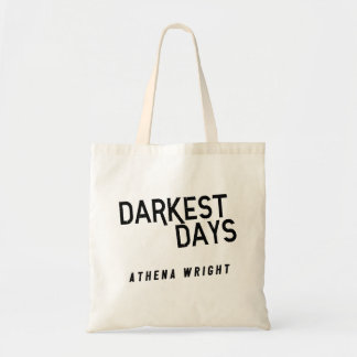 Darkest Days by Athena Wright Tote Bag White