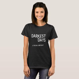 Darkest Days Women's Basic T-shirt Black