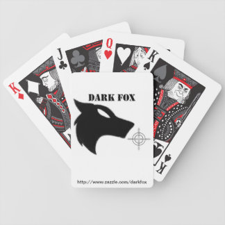 darkfox poker playing cards
