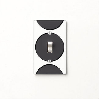DarkGrey Dot Light Switch Cover