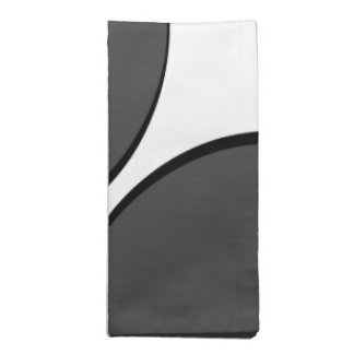 DarkGrey Dot Napkin