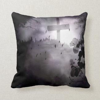 Darkness 16x16 Poly Throw Throw Pillow