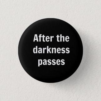 Darkness 1 Inch Round Button