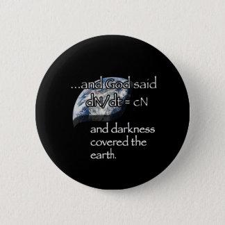 Darkness (earth) 2 inch round button
