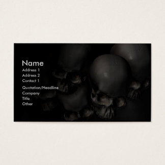 Darkness Falls Business Card